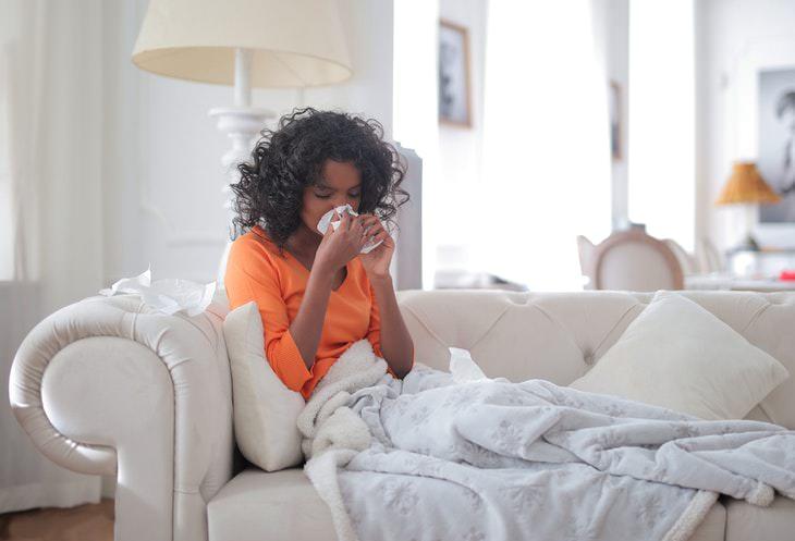 Pumpkin Seeds woman sick in bed
