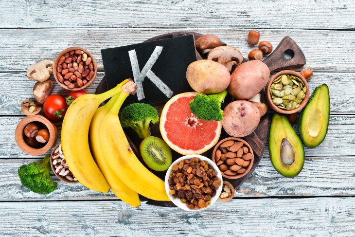 Potassium Deficiency potassium rich foods