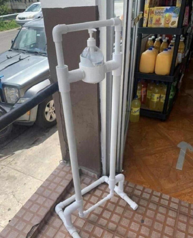 DIY Tricks, dispenser