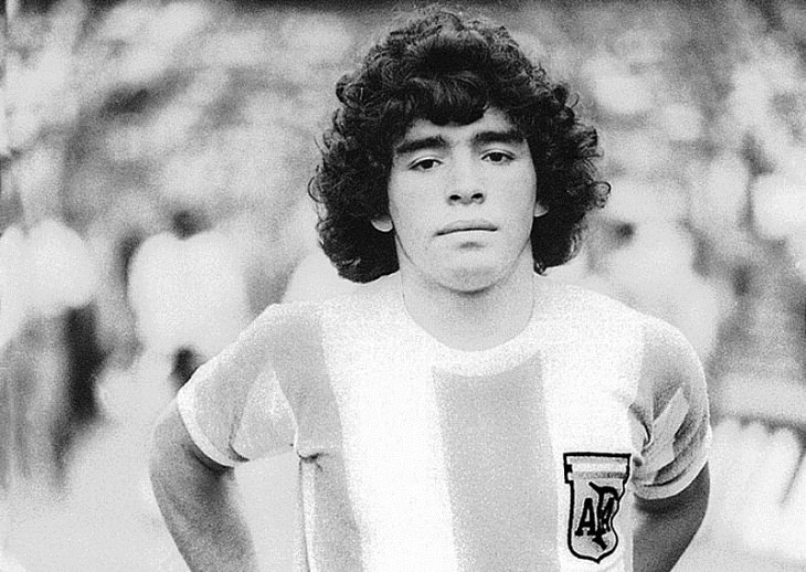 Facts About Diego Maradona, youngster