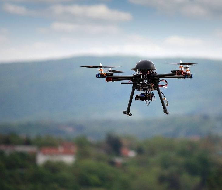 Drones Rescue People, AI-enhanced drones
