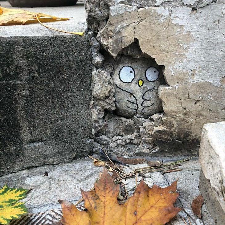 Street Artist CAL Uses Urban Corners Ingeniously, hiding space