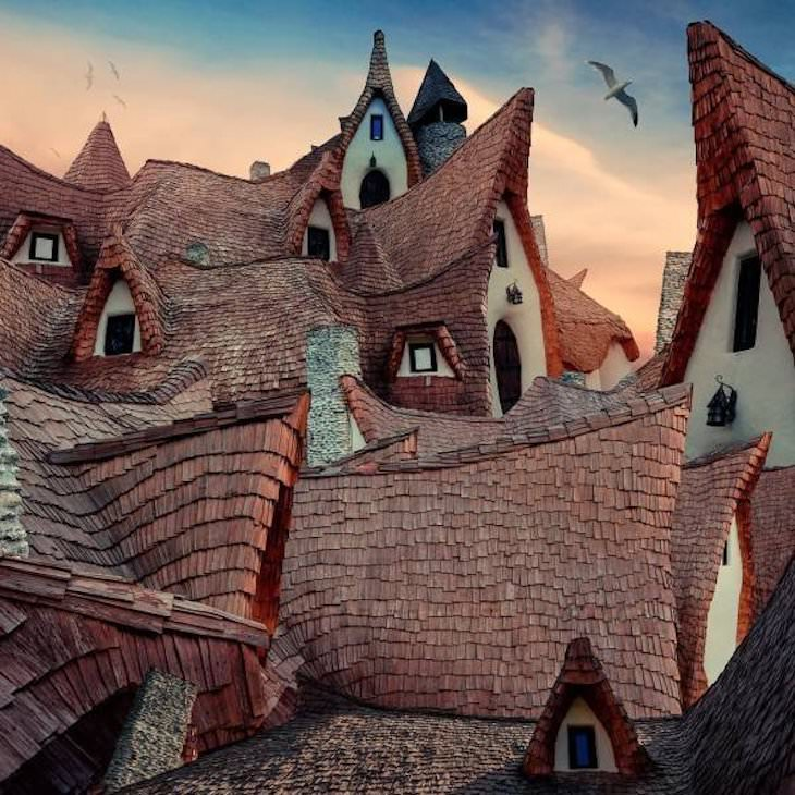 19 Images of Unusual Sights Around the World, Clay Castle of the Valley of Fairies, Transylvania, Romania