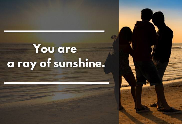Compliments for Friends,sunshine