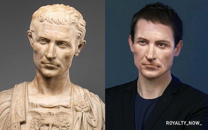 Historical Figures Recreated, Julius Caesar