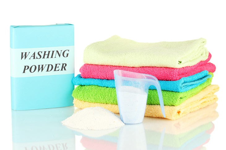 Laundry Tips Towels, detergent