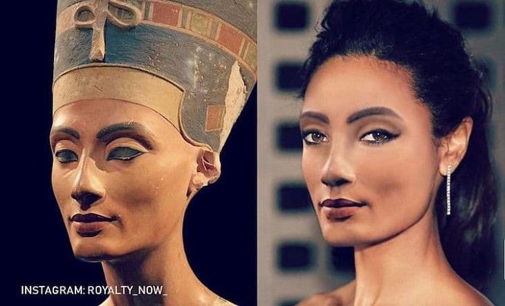 Historical Figures Recreated, Nefertiti