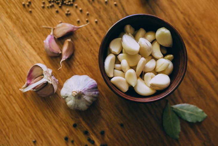 Alimentos Que La Familia Real Evita Ajo y cebolla