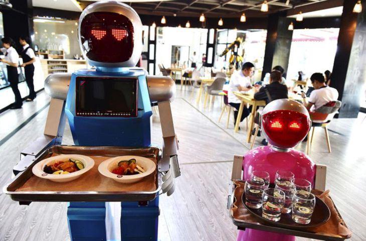 Japan, robots