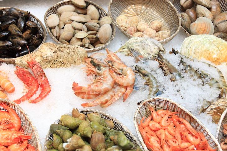 Alimentos Que La Familia Real Mariscos