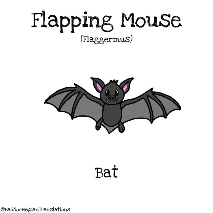 Bad Norwegian Translations flapping mouse