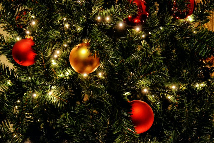 Formula for Amount of Christmas Lights for a Tree beautiful tree