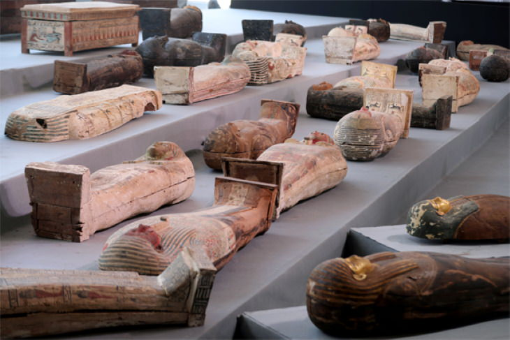 Archeological Discoveries Made in 2020 egyptian mummies