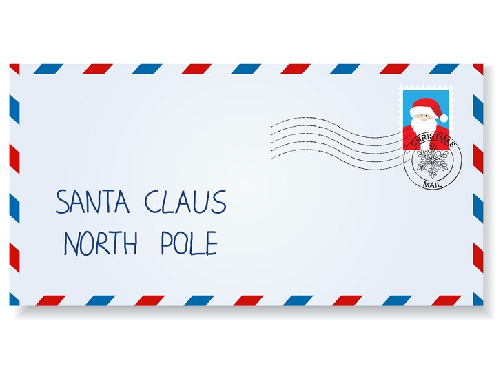 Christmas Facts, letters to Santa