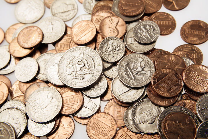 11 Things To Never Put in the Washing Machine, coins