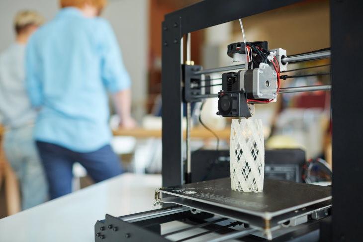 3D Printing printer white thing
