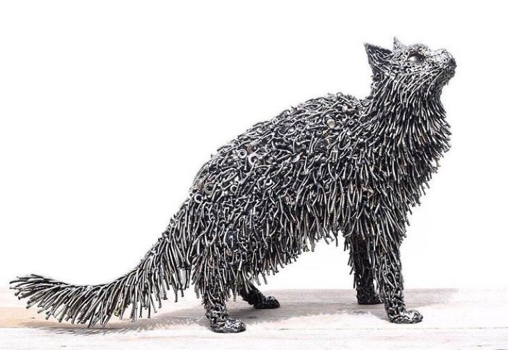 Brian Mock Metal Sculptures cat