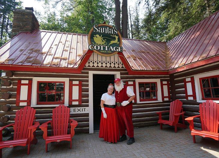 Christmas places, Santa's Village
