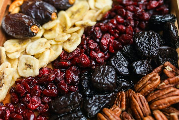 Items That Should Be Kept in the Fridge Dried fruit and nuts
