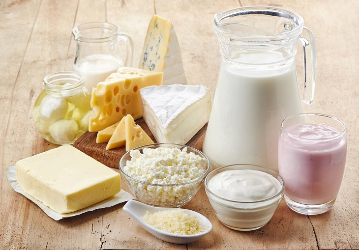 Foods to avoid in Winter, Dairy products