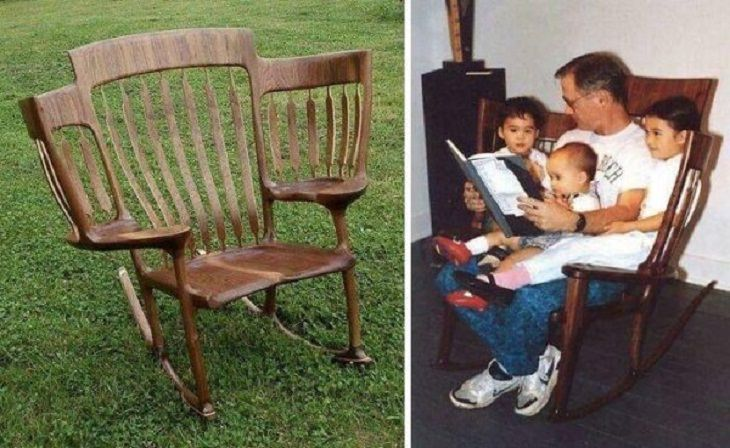 Creative Inventions, rocking chair