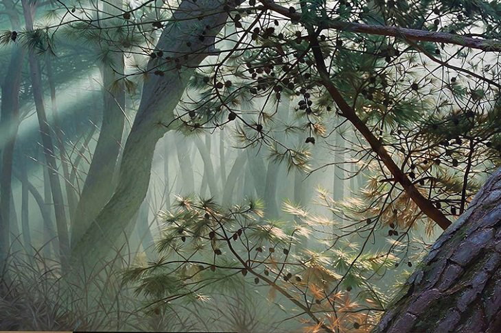 Hyperrealism Paintings, nature