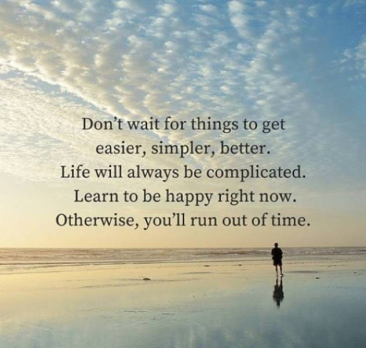 Motivational Quotes life is complicated
