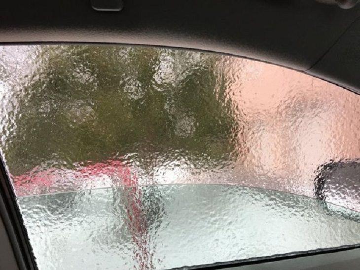 Winter Pics, car window