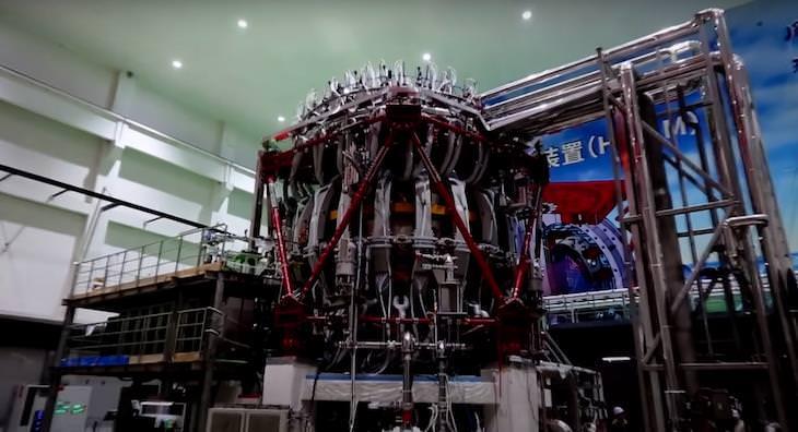 China Turns On Artificial Sun Nuclear Reactor,  HL-2M Tokamak