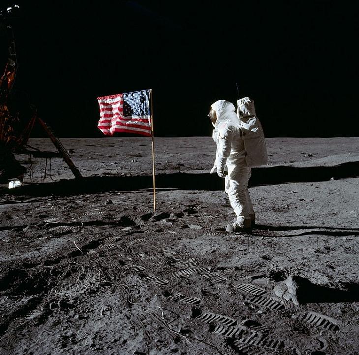 Men on the Moon, Buzz Aldrin