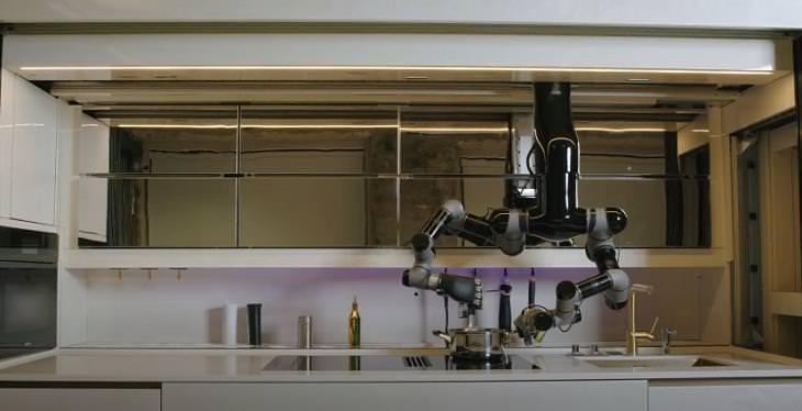 Robotic Kitchen, cooking