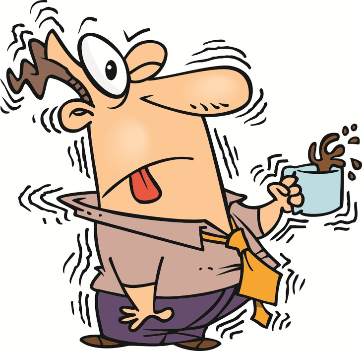 Tips to Reduce Caffeine's Effects, overdose, coffee