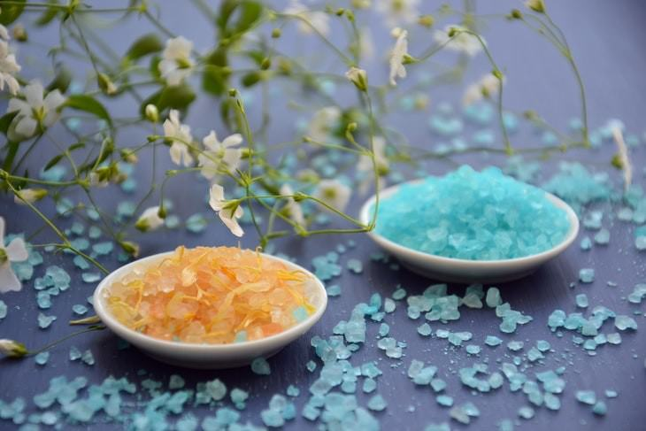 Foot Soak Recipes bath salts