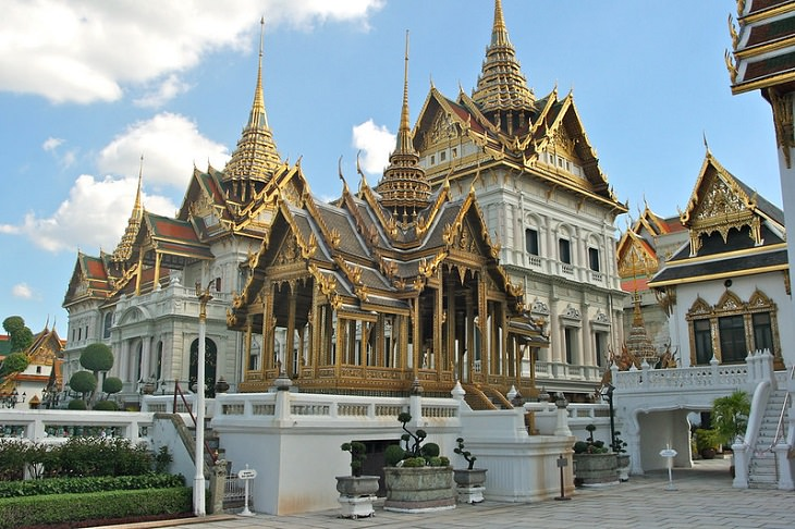 Royal Residences Grand Palace in Bangkok, Thailand