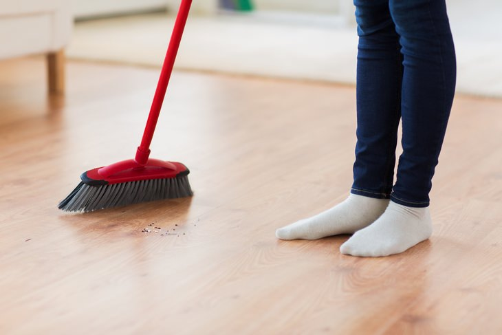 Sweeping Instead of Vacuuming