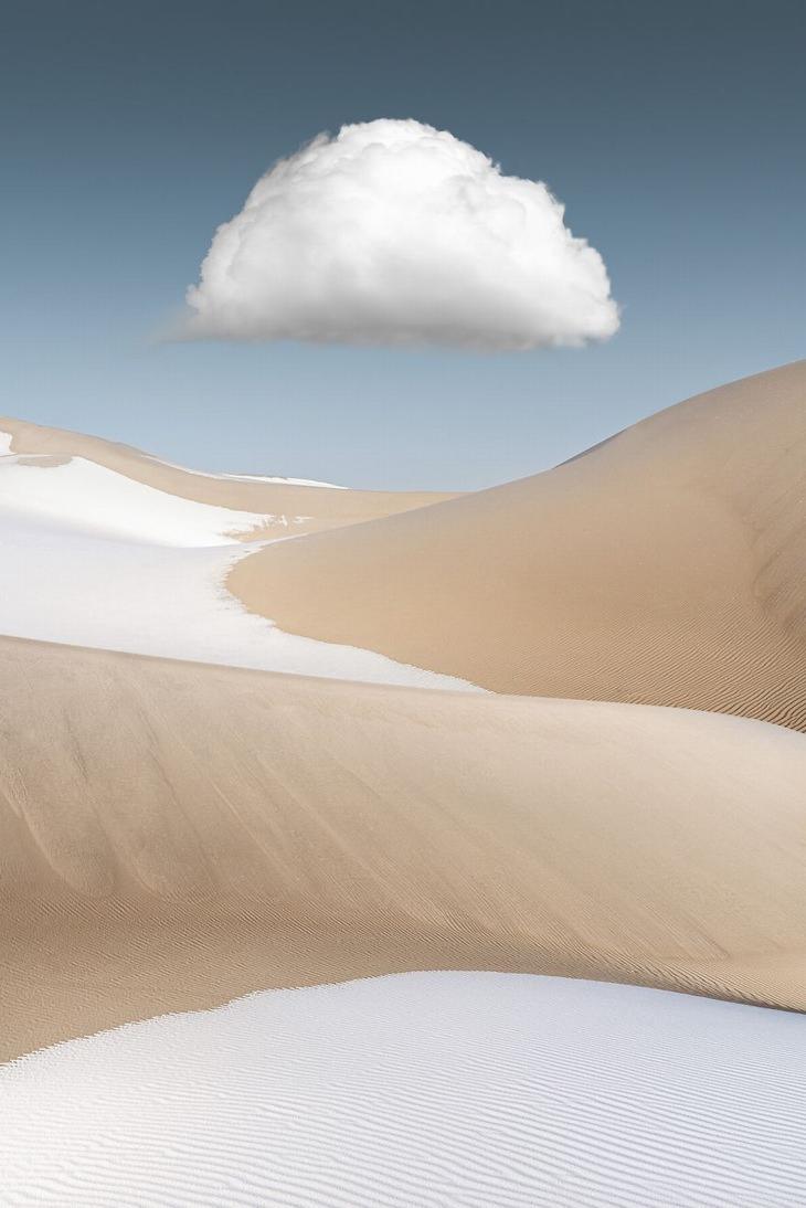 Badain Jaran Desert, China by Yang Guang