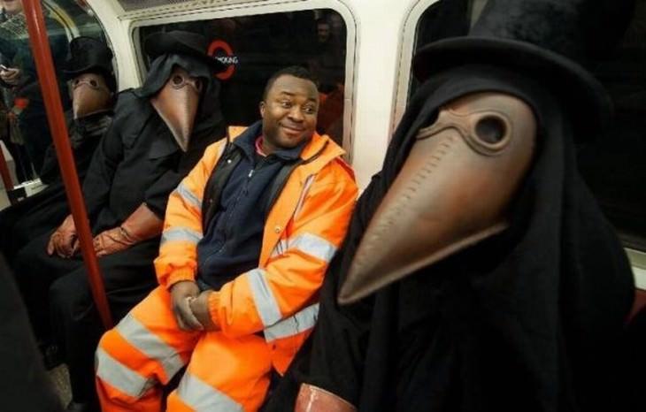 strange subway encounters