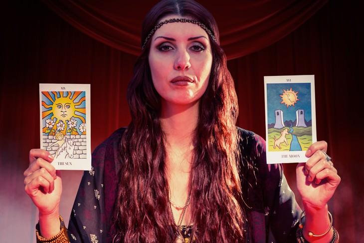 the World's Strangest Addictions fortune teller