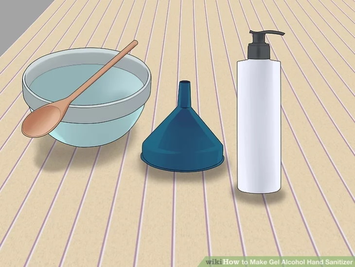 DIY Hand Sanitizer Recipes equipment