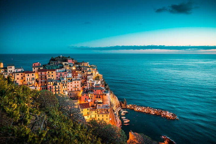Colorful Towns and Villages Around the World Cinque Terre, Italy