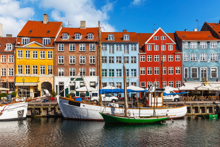 Colorful Towns and Villages Around the World Nyhavn, Denmark