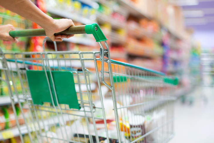 5 Rules For Safe Food Shopping During the Corona Pandemic shopping cart