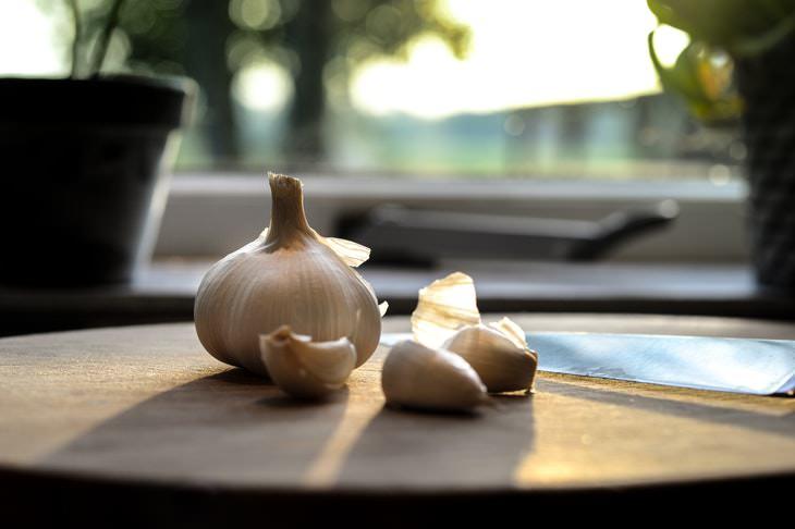 anti aging foods garlic