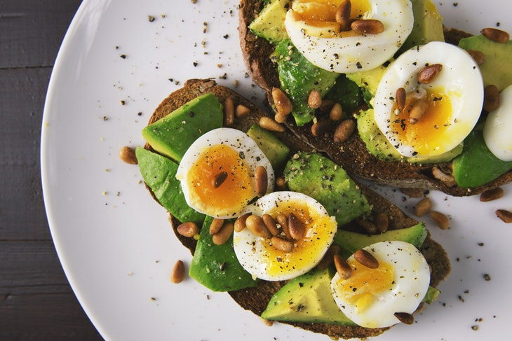 eggs and cardiovascular health avocado and eggs toast