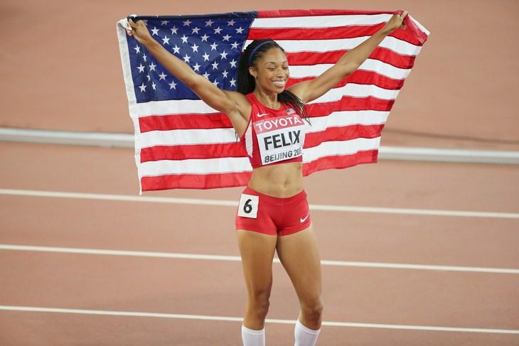 Allyson Felix Broke Usain Bolt's Medal Record