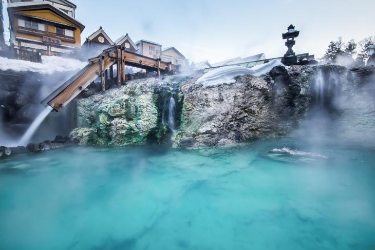 heart health and baths onsen