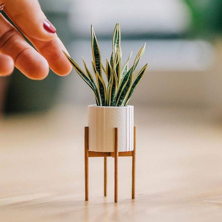 Tiny Paper Houseplants