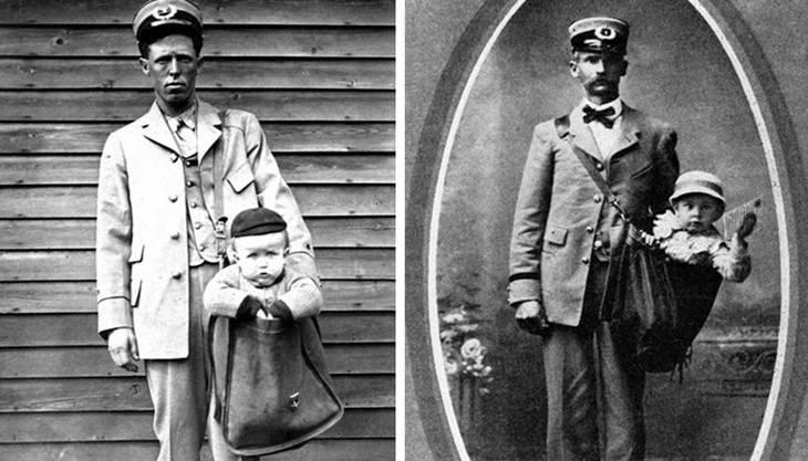 Prácticas comunes del pasado prohibidas ahora Envío de niños por correo