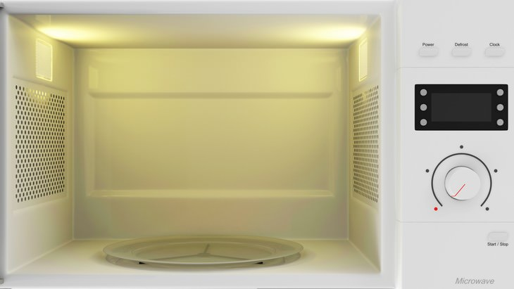 1. Self Cleaning Microwave