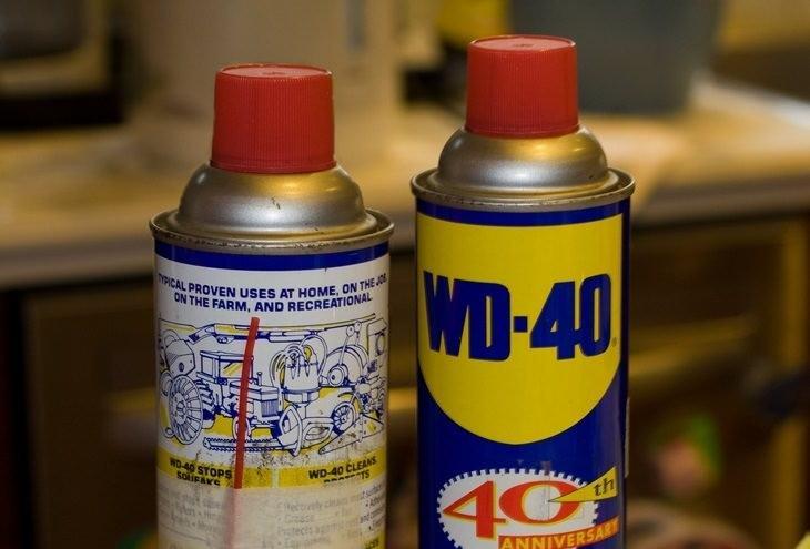 2.Oil Spray to RemoveStains